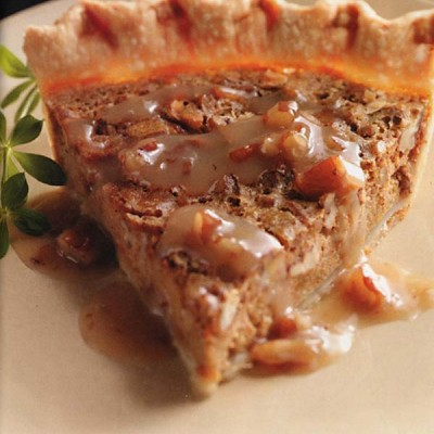 Sweet Potato Pie & Maple Praline Sauce