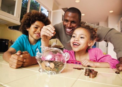 Use everyday moments to teach kids about money