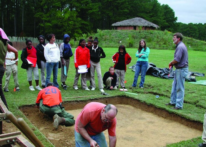 Field Trip: Learning about the Pee Dee Tribe