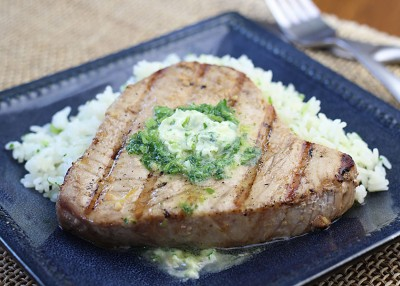 Grilled Marinated Tuna